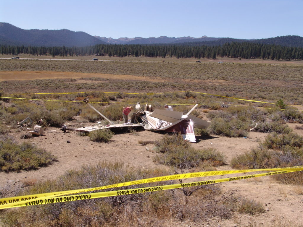 Remains of the Plane